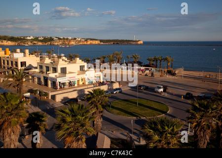 Portugal, Algarve, Portimao, View over Port - Stock Image