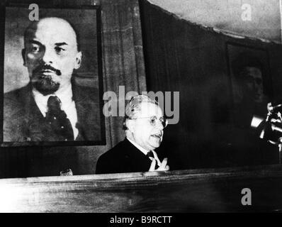 Palmiro Togliatti in 1956 - Stock Image
