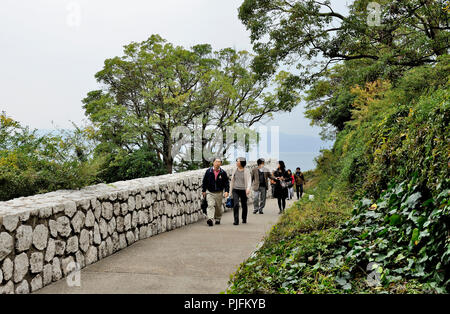 Japan, Naoshima island, Museum of Modern Art of the Benesse House, by the architect Tadao Ando - Stock Image
