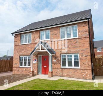 Avant Homes new homes development, north east England. UK - Stock Image