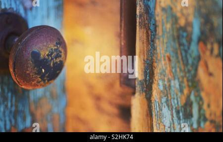 Door knob - Stock Image
