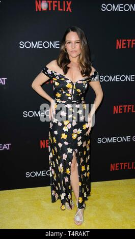 Los Angeles, CA, USA. 17th Apr, 2019. Yara Martinez at arrivals for SOMEONE GREAT Premiere on NETFLIX, ArcLight Hollywood, Los Angeles, CA April 17, 2019. Credit: Elizabeth Goodenough/Everett Collection/Alamy Live News - Stock Image
