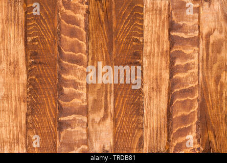 the brown old wood texture - Stock Image
