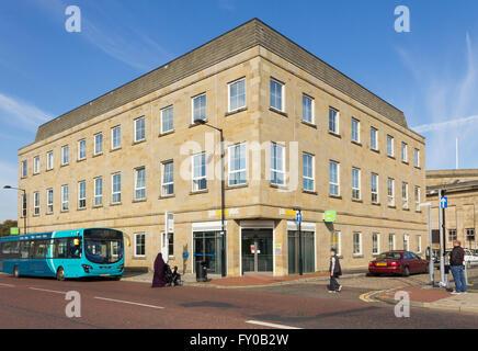 Job Centre Plus building on Black Horse Street, Bolton. - Stock Image