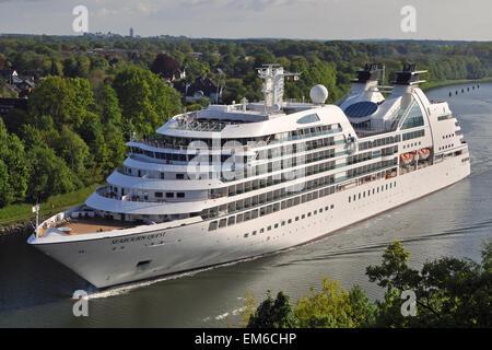Cruiseship Seabourn Quest - Stock Image