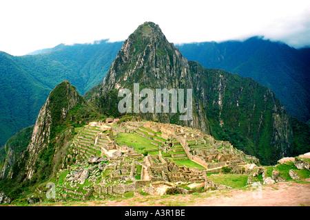 Machu Picchu Peru - Stock Image