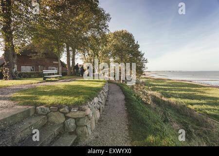 Altfriesisches Haus, Keitum, Sylt, Schleswig-Holstein, Germany, Europe - Stock Image
