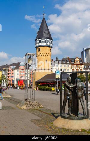 Bockenheimer Warte, Frankfurt, Germany. May 2017. - Stock Image