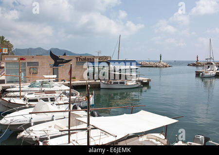 Cala Bona Harbour - Stock Image