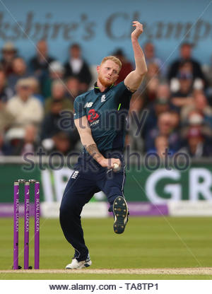 File photo dated 19-05-2019 of England's Ben Stokes during the One Day International match at Emerald Headingley, Leeds. - Stock Image