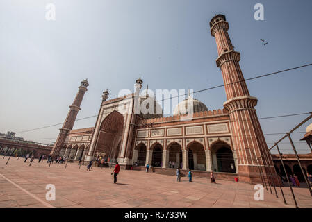 Jama Masjid, Old Delhi, India - Stock Image