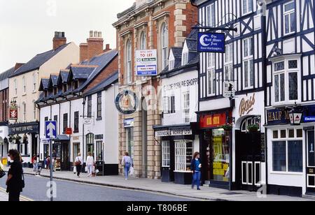 Ye Olde Pork Pie Shop, Melton Mowbray, Leicestershire, England, UK. Circa 1980's - Stock Image
