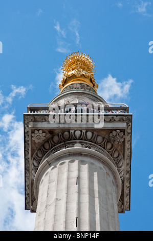 The Monument, London, England - Stock Image