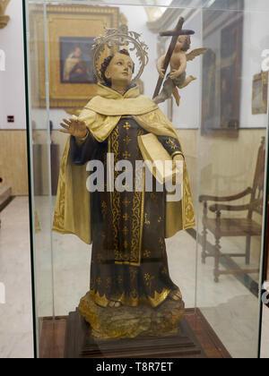 San Juán de la Cruz. Museum in Úbeda, Jaén, Andalusia, Spain. - Stock Image