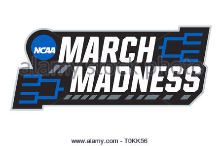 March Madness NCAA logo icon - Stock Image
