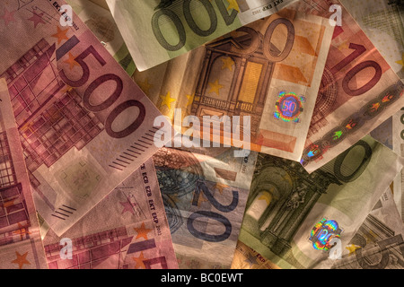 Euro currency - Stock Image