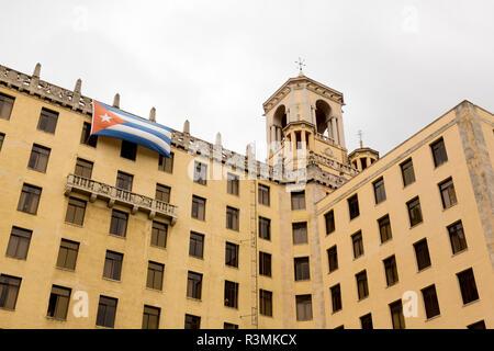 Cuba, Havana. Looking up at National Hotel. Credit as: Wendy Kaveney / Jaynes Gallery / DanitaDelimont.com - Stock Image