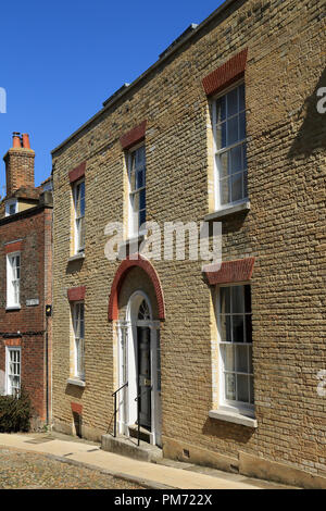 Town house in West Street, Rye, East Sussex, UK - Stock Image