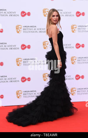 LONDON, UK. May 12, 2019: Kimberley Garner arriving for the BAFTA TV Awards 2019 at the Royal Festival Hall, London. Picture: Steve Vas/Featureflash - Stock Image