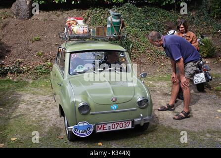 Goggomobil T sedan - Stock Image