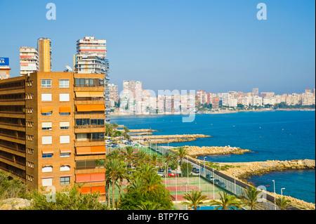Benidorm, Costa Blanca, Spain - Stock Image