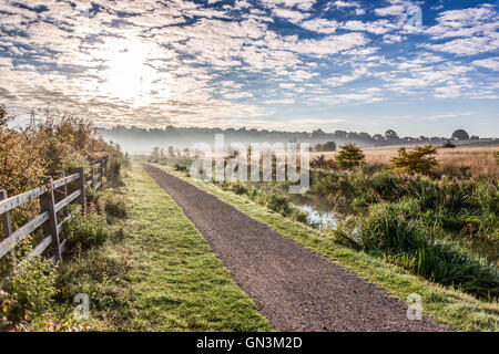 Chesterfield Canal, England, UK - Spring 2016 - Stock Image