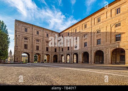 Italy Emilia Romagna Parma Museum Pole of the Pilotta - Stock Image