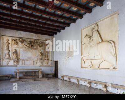 Town Loggia, Trogir, Croatia - Stock Image