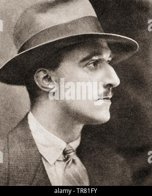 EDITORIAL  Henry Canova Vollam Morton, aka H. V. Morton, 1892 –1979,  English journalist and pioneering travel writer.  From The Pageant of the Century, published 1934. - Stock Image