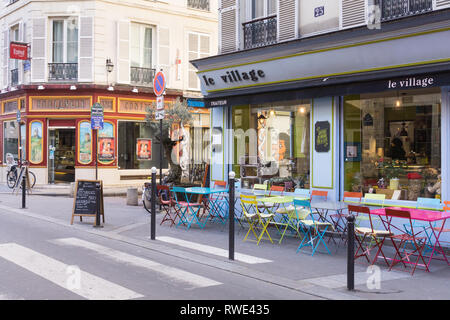 Rue Bouchardon in the 10th arrondissement of Paris, France. - Stock Image