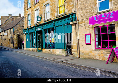 Stow on the Wold, Cotswolds, Cloucestershire, England - Stock Image