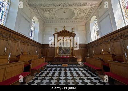 Emmanuel College cambridge chapel - Stock Image