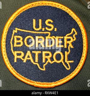 U.S. Customs and Border Protection Badge - Stock Image