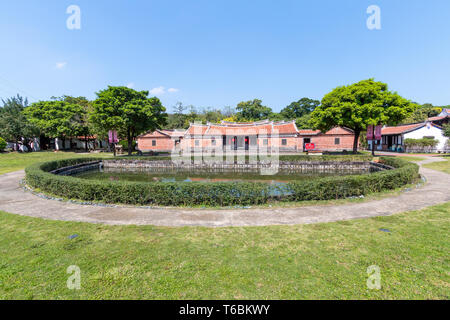 Lin Antai Historical Home and Museum in Taipei built in the late 18th century. - Stock Image
