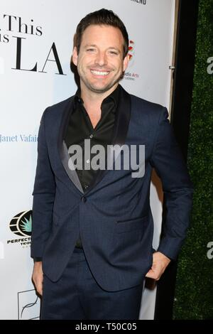 Los Angeles, CA, USA. 18th Apr, 2019. Rob Valetta at arrivals for THIS IS L.A. Premiere Party, Yamashiro Hollywood, Los Angeles, CA April 18, 2019. Credit: Priscilla Grant/Everett Collection/Alamy Live News - Stock Image