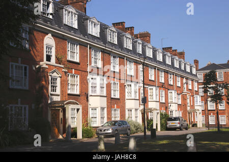 Tyndale Mansions Islington London - Stock Image