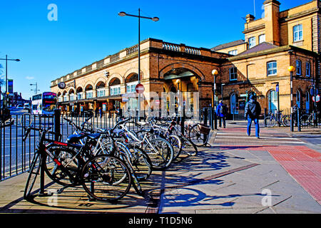York Station, Station Concourse,  York, England - Stock Image