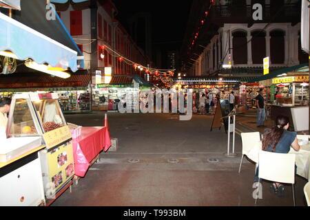 chinatown singapore - Stock Image
