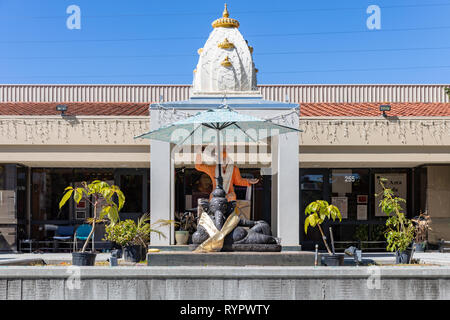 Shirdi Sai Darbar, Bay Area Hindu Temple; Sunnyvale, California, USA - Stock Image