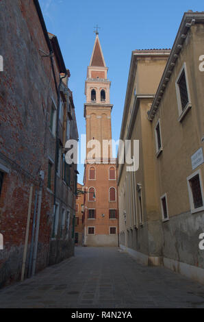 A tower in Venice Italy - Stock Image