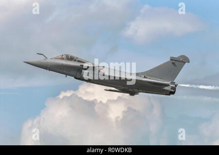 Dassualt Rafale French air force fighter - Stock Image