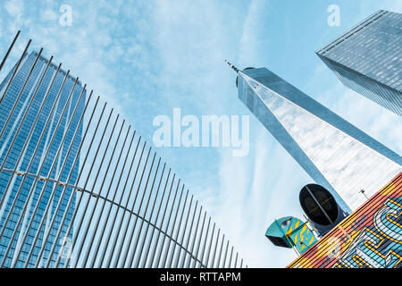 Freedom Tower, NYC - Stock Image