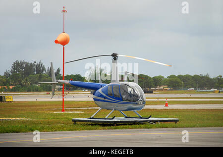 private helicopter - Stock Image