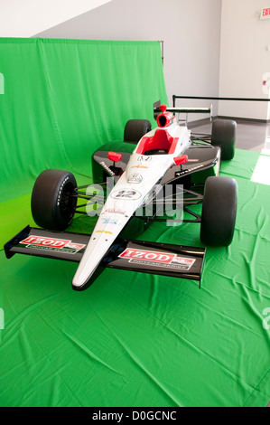 USA, Indiana, Indianapolis Motor Speedway, latest Dellara car Model 12 during off season scene of the annual Indy - Stock Image