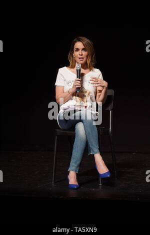 """Journalist Carme Chaparro during presentation of """" We love Queen """" show in Madrid on Wednesday, 22 May 2019.   Cordon Press - Stock Image"""
