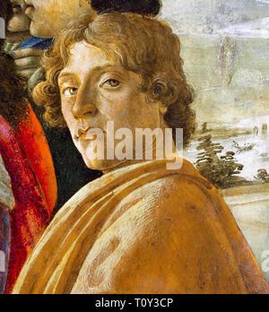 Sandro Botticelli (1445–1510), Self Portrait, c. 1475 - Stock Image