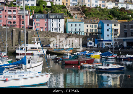 Brixham, Fishing Town, Torbay, Devon - Stock Image