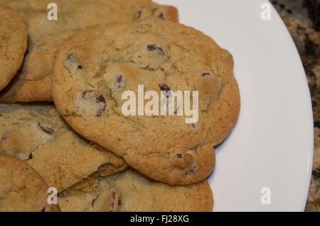 cookies, tall house,  gourmet cookies - Stock Image