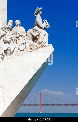 Monument of the Discoveries, Belem, Lisbon, Portugal, - Stock Image