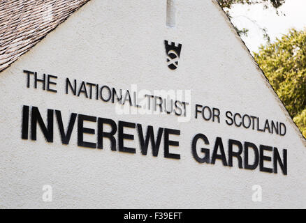 The National Trust For Scotland  Inverewe Gardens  West Ross Scotland - Stock Image